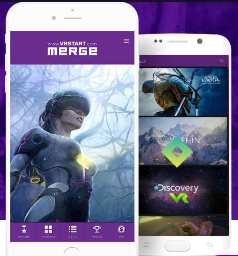 Games on Merge VR