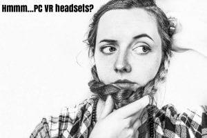 VR PC headset