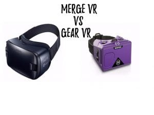 Merge VR vs Samsung Gear VR