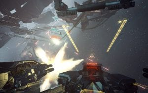 Eve: Valkyrie on PS VR