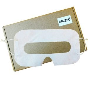 Eye mask for Oculus Rift