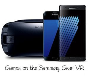 Top 10 Games on the Samsung Gear VR