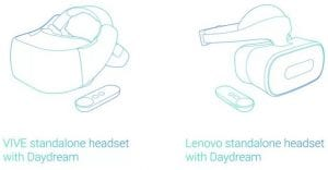 'Standalone' Google Daydream VR headset- A new face in VR?